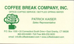 Click to see Coffee Break Company, Inc Details